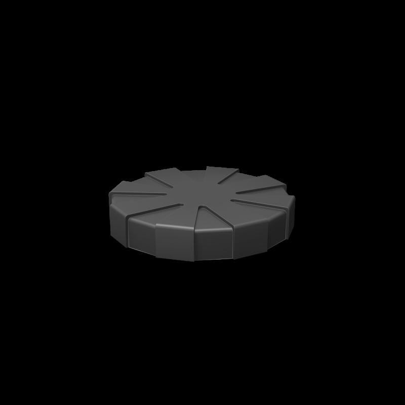 Крышка-люк диаметр 600 мм